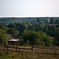 Вид на церковь Сергия Радонежского, Кокаревка