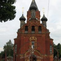 Preobrazhenskaia Church, Кокаревка