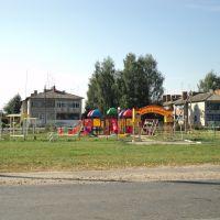 Детская площадка на ул. Шоссейной, Красная Гора