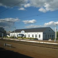 Ж/д станция Навля, Навля