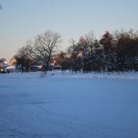 пруд зимой, Новозыбков