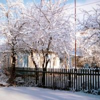 Улица Пушкина, январь-2004 / Pushkin Street, Погар