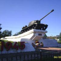 ИС-2, Погар