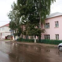 Ул. Октябрьская / Oktyabrskaya street, Погар