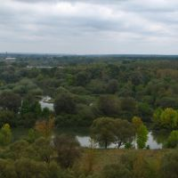 Осенний вид с Чашина кургана, Рогнедино