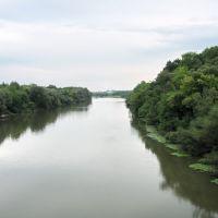 Desna river, Рогнедино