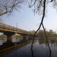 Фабричный мост через р. Ипуть. Фото В. Берзина, Сураж