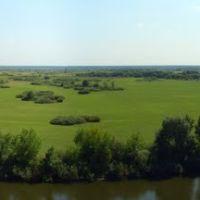 Панорма Десны, вид из парка, Трубчевск
