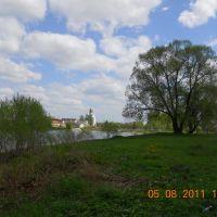 вид на церковь с ул. Гоголя, Дятьково