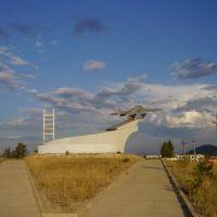 Таксимо памятник речной авиации, Таксимо
