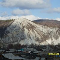 Вид на Белую гору из-за Багдаринки, Багдарин