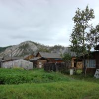 Белая гора с когда-то нашего двора, Багдарин