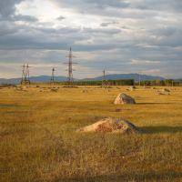 Ининский сад камней, Баргузинский район, Республика Бурятия, Россия, Баянгол