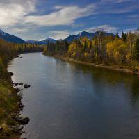 Осень на реке Снежной (Autumn on the river Snegnaja), Выдрино
