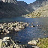 верхнее озеро в солнечный день, Гусиное Озеро