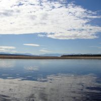 Calmness at Vitim River, Гусиное Озеро