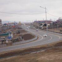 Трасса А165, Гусиноозерск
