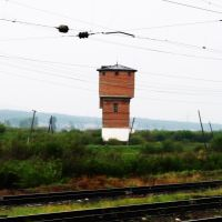 Старая водонапорная башня, Заиграиво, Республика Бурятия, 18.06.2011, Заиграево