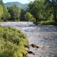 Река Кика у одноименного селения, Илька