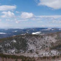 """Панорама""""Вид с Бабасановской горы"""", Илька"""
