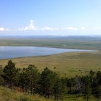 Lake on the steppe, Илька