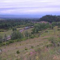 Появление поезда, Кижинга