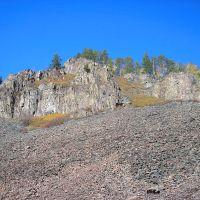 Скалы на р. Хахаланка, Кижинга