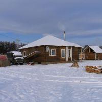 Дом пчеловода (зима), Курумкан