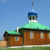 Православный храм в честь святителя Иннокентия епископа Иркутского в селе Кырен, Кырен