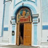 Успенская церковь вход, Кяхта