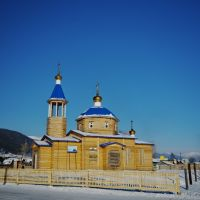 Church in Nishneangarsk, Нижнеангарск