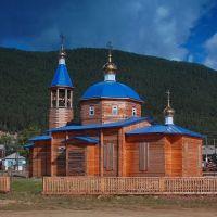 Нижнеангарск. Церковь Владимирской иконы Богоматери, Нижнеангарск