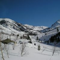 "Hamar-daban ridge. Mountains ""Mamai"", ""Lesnoy"", ""Polyana"" / Пики Мамай, Лесной, Поляна_March, 2005, Петропавловка"
