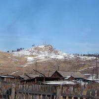 Mongol-russo boarder, Naushki, Петропавловка
