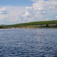 Мост в Романовке, Романовка