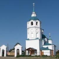 Спасский храм в с. Турунтаево (июнь 2010г.), Турунтаево
