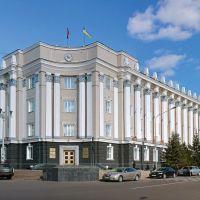 Площадь Советов. Здание Народного Хурала РБ., Улан-Удэ