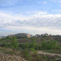 Вид через реку на место основания города, Улан-Удэ