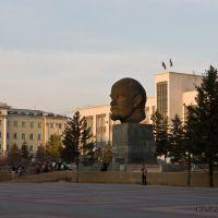 Улан-Удэ. Самая крупная голова Ленина (зафиксировано в книге рекордов Гиннеса), Улан-Удэ