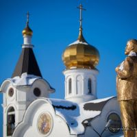 Улан-Удэ.Ленин и купола., Улан-Удэ