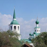 купола Свято-Троицкой церкви, Улан-Удэ