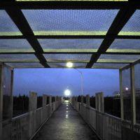 Bridge over the railway lines, Северобайкальск
