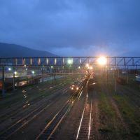Severobaikalsk railway lines, Северобайкальск