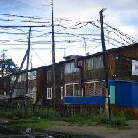 Wooden houses, Северобайкальск