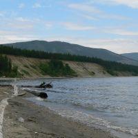 Берег Байкала в Северобайкальске, Северобайкальск