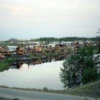 Озеро и домики, Северобайкальск
