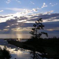 Рассвет над Байкалом, Северобайкальск