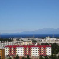 Северобайкальск,вид с колеса обозрения, Северобайкальск