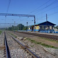 Railway st. Bogolubovo, Боголюбово