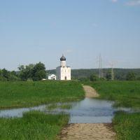 Дорога к Храму Покрова на Нерли, Боголюбово